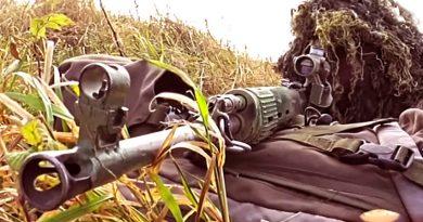 Снайперистите от руските спецчасти получиха нови пушки