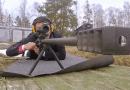 Маневри с използването на пушките с голям калибър АСВК
