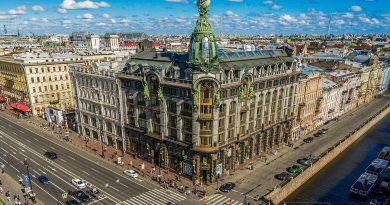 Вижте 15-те най-красиви сгради в Санкт Петербург