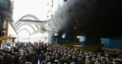 """Ядрената подводница """"Казан"""" влиза в състава на руския ВМФ през 2020"""