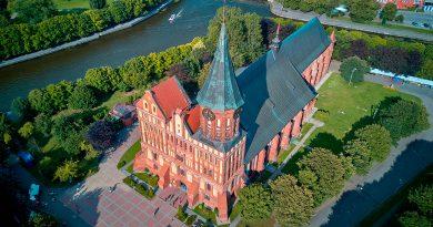 10-те най-красиви сгради и забележителности в Калининград