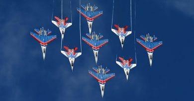 """""""Руските витязи"""" получиха четири самолета Су-35С с най-нови модификации"""