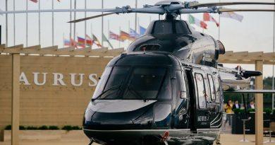 """Първият вертолет от луксозен клас """"Ансат"""" Aurus ще бъде доставен през 2020"""