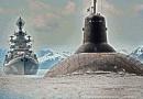 """Шведски експерти са притеснени от внезапната поява на гигантската подводница 949A """"Антей"""" в Балтика"""
