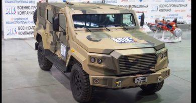 """Новият брониран автомобил """"Стрела"""" ще бъде показан на форума """"Армия-2020"""""""