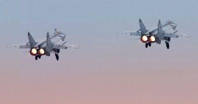 Руски МиГ-31 прeхвана американски дрон над Чукотско море