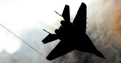 Твърдо кацане на МиГ-31 без колесник