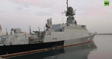 Най-добрите кадри от ученията на Каспийския флот