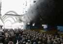 """Атомният крайцер """"Казан"""" демонстрира мощта на своя ракетен арсенал"""