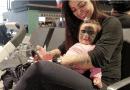 """Майката на детето от САЩ с """"маската на Батман"""" публикува снимка на дъщеря си след операцията в Русия"""
