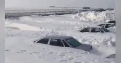 Защо трябваше да разпознават паркирани автомобили в Норилск по покривите?