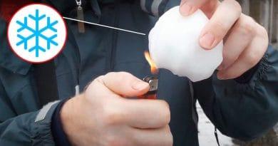 Руснаците горят сняг, за да докажат, че е изкуствен