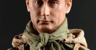В САЩ се продава играчка спецназовец, която прилича на Путин