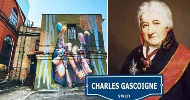 5 улици в Русия, кръстени на известни англичани