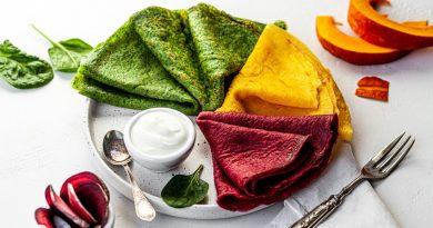 Цветни блини: Трябва да ги пробвате за Масленица, седмицата на палачинките