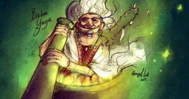 Как чуждестранните художници изобразяват Баба Яга