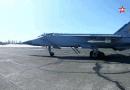 Ракетна стрелба и бягство от врага: вижте кадри от авиационни учения над Тихия океан