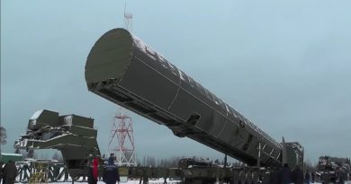 """Русия планира три пуска на МБР """"Сармат"""" през 2021"""