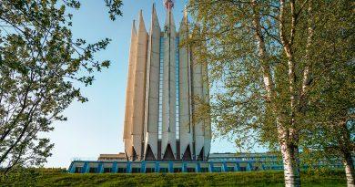 Впечатляващи сгради в стила на съветския брутализъм
