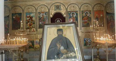 Св. Ефрем Нови, който идва в Сливен на 22 юни, извърши 4 чудеса в Ямбол и Тополовград
