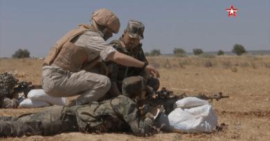 Руски военни инструктори проведоха обучение на сирийски снайперисти