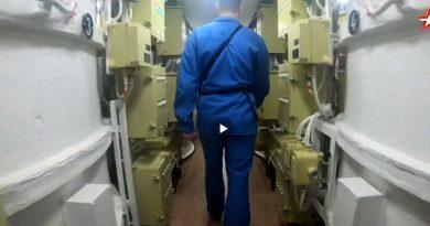 """Показаха тайните на стратегическата атомна подводница """"Княз Владимир"""""""