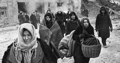 През 1941 г. Ленинград е подложен на най-големия обстрел за времето на ВСВ